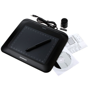 "10.6 ""Art Graphics Tablet Sneltoetsen Draadloze Digitale Pen voor PC Laptop met USB"