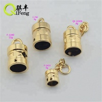 2017 Newest production metal bell for handbag accessories in light gold color
