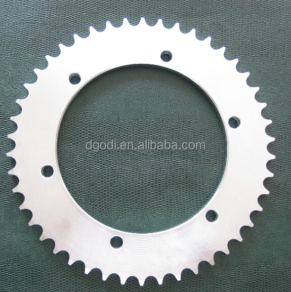 motorcycle chain sprocket gear as motorcycle spare parts from china