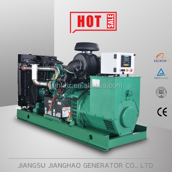 Reasonable price of 90kw open frame diesel generator set with volvo penta engine for sale