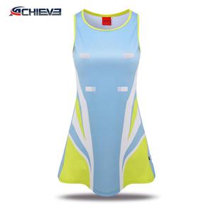 custom lawn tennis sports wear/ netball dress uniform/ skirts fashion