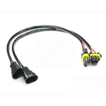 9006 Hb4 Male Power Wire Harness For Hid Led Fog Lamp 9006 Wiring  Hb Wiring Harness on