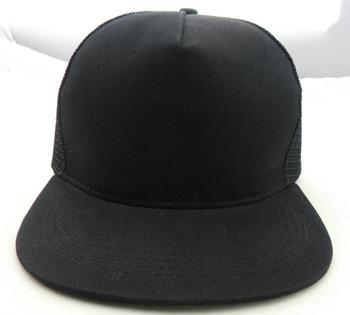 Cheap Wholesale Black Blank Flat Bill Trucker Hats Wholesale - Buy ... 2916d7828ce