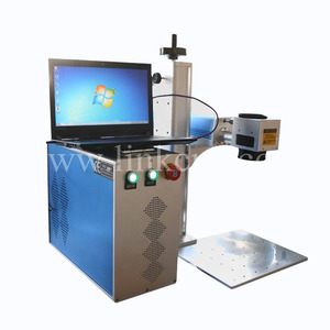 Good Quality Metal Laser Printer / 20w Fiber Laser Marking Machine