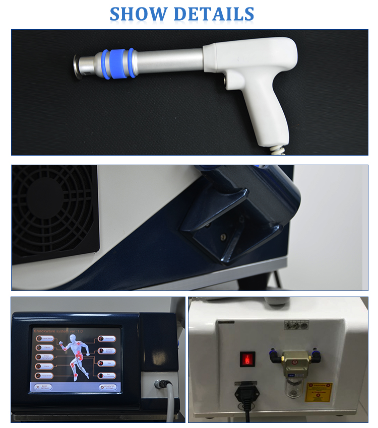 Latest design Body Pain Relief portable Shockwave Therapy Machine
