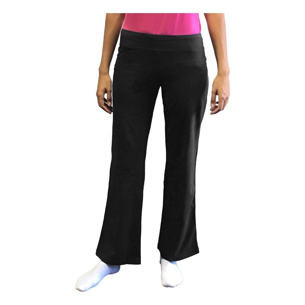 7d948cd1ba Get Quotations · Danskin Now Petite Women's Dri More Bootcut Pants - Yoga,  Fitness, Activewear