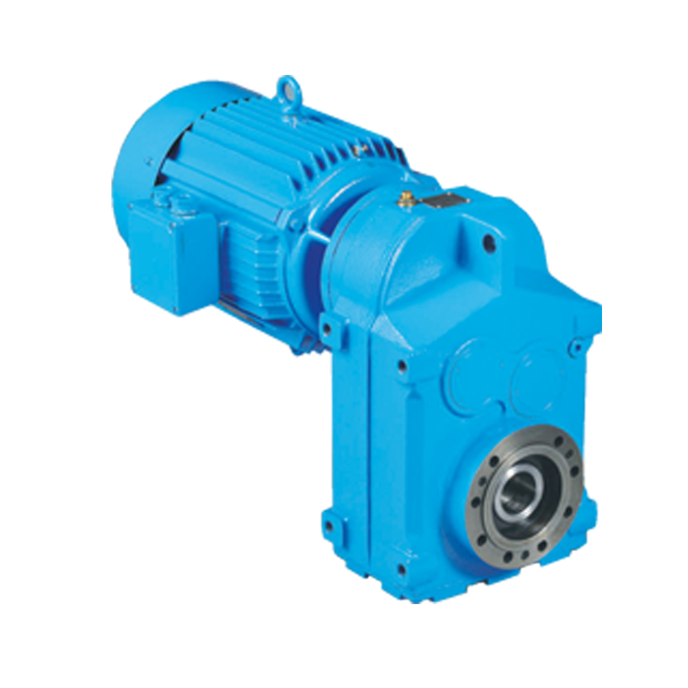 F series parallel shaft helical gearbox flenders gearbox