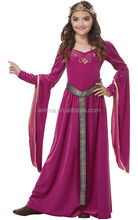 MEDIEVAL PRINCESS RENAISSANCE QUEEN MEDIEVAL PRINCESS RENAISSANCE QUEEN CHILD GIRLS FANCY DRESS BOOK WEEK COSTUME CC3019