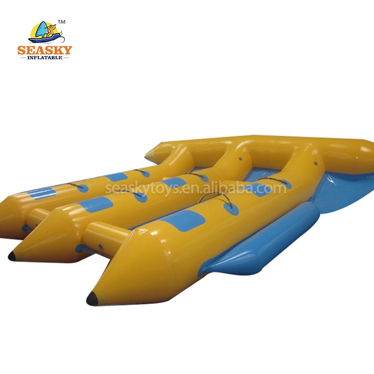Fnflatable Mosca Pesce Sport D'acqua, Gonfiabile Motorizzato Gonflable Flyfish Banana Boat