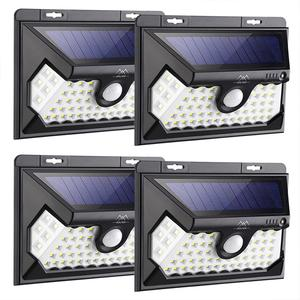 Solpex 58 LED Solar Lights Outdoor, Waterproof Solar Motion Sensor Lights