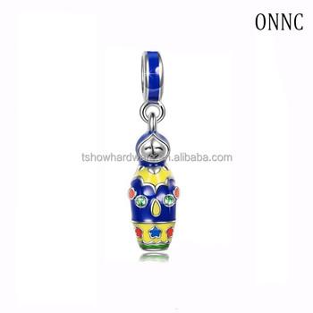 custom metal alloy enamel russia matryoshka dolls keychain for women jewelry 082a141ec1