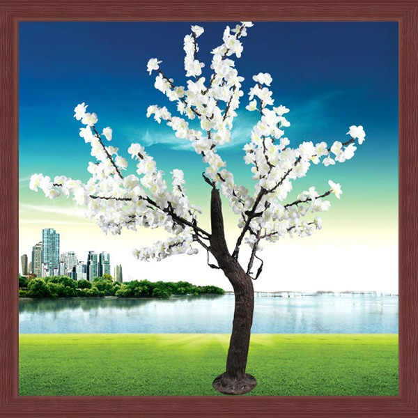 1.5m White Decorative Flowers & Wreaths Decoration Tree &plant ...