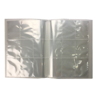Plastic pp clear 9 pocket/ 18 pocket trading card album MTG/ CCG/ TCG game card sleeves(Manufactory)