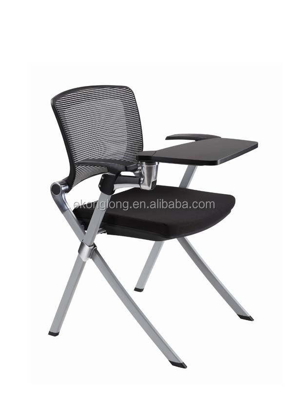 fice Schulung Stuhl Ausbildung stuhl mit schreibplatte
