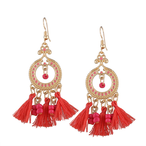 Big Earrings Tassels ffc103fe8a61