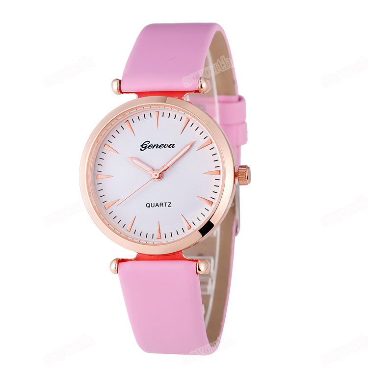 LE 186 2017 Colorful print high quality fashion watch for fashion women cheap leather watches gevena watch