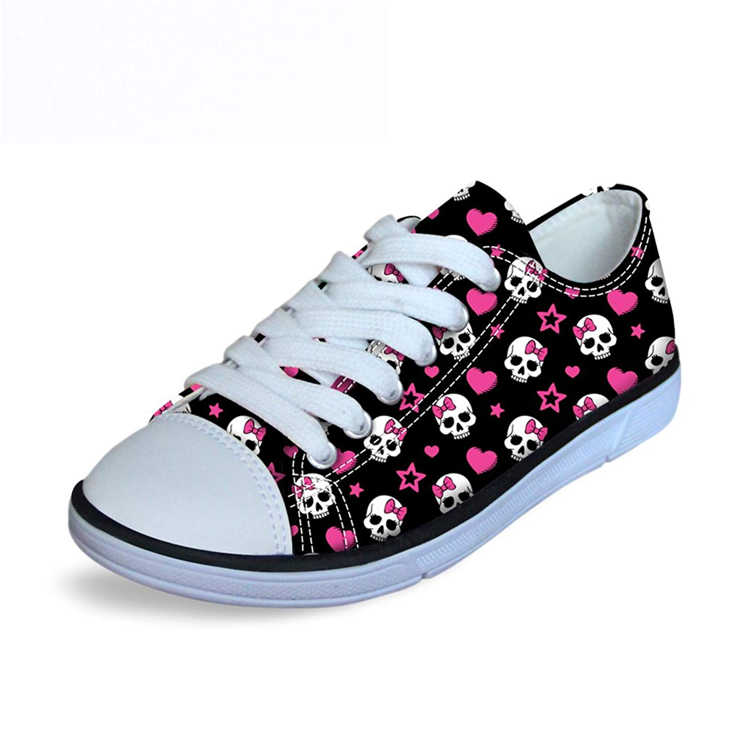 FOR U DESIGNS Fashion Galaxy Canvas Shoes Mens Star Animals High Top Walking Sneakers