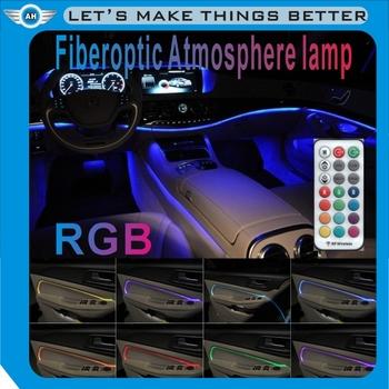 Cerosh new car decoration lamp led car atmosphere lights auto cerosh new car decoration lamp led car atmosphere lights auto interior strip light cold mozeypictures Images