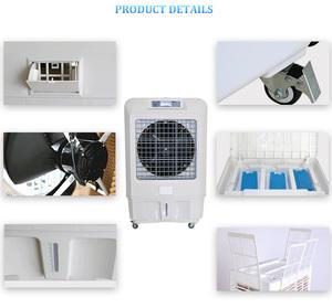 Dubai Iraq air conditioner evporative cooler AC/DC/Solar air cooler
