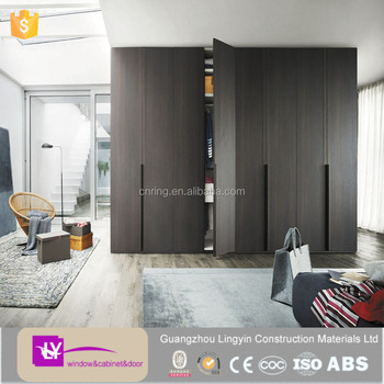 2015 Italian Space Saving Hinge Door Almirah Bedroom Wardrobe Furniture  Design For Modern House