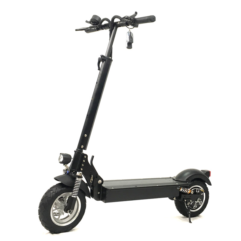 2018 New adult standing 2 wheel china 60V 1200W 2400W foldable kick motorcycle electric scooter with 2 seats