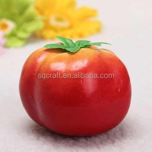 Best Exporting Artificial Vegetable Fruit Fake Tomato In Realistic 1:1 Size For Home Kitcen Decor
