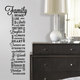 ALY-QWS055 BSCI eco-friendly PVC Self adhesive Quotes wall sticker love