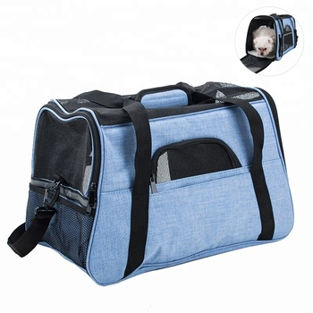 Soft Sided Wholesale Airline Approved Pet Carrier Dog Travel Bag