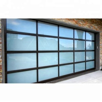 American Quality Standard residential custom colors plexiglass garage doors prices