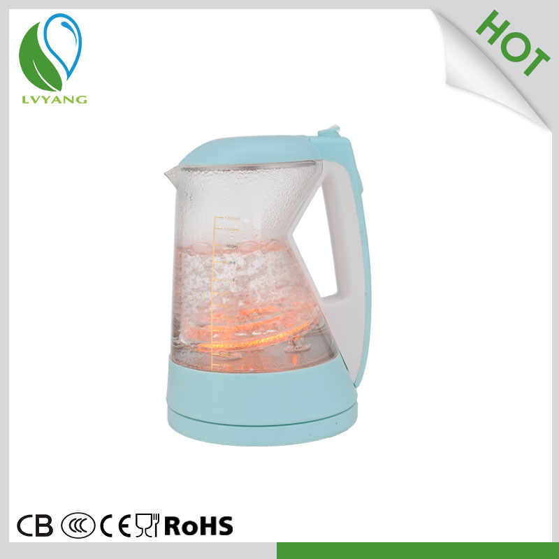 professional manufacture electric glass kettle
