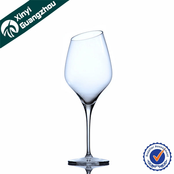 7c1d41afd06 Wholesale Personalized Angled Rim Red Wine Glass From Factory - Buy Angled  Rim Wine Glass,Wholesale Personalized Wine Glasses,Red Wine Glass With ...