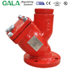 FM UL strainers fire fighting Y type
