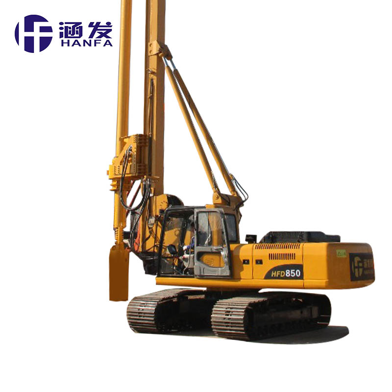 Air conditioner! Multifunctional full hydraulic power unit HFW200 geothermal drilling rig