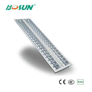 2x28w T5 Recessed Fluorescent Lighting With Electronic Ballast