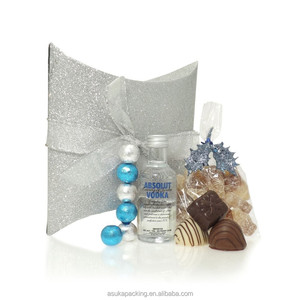 Vodka Gift Box Fancy Pillow Box