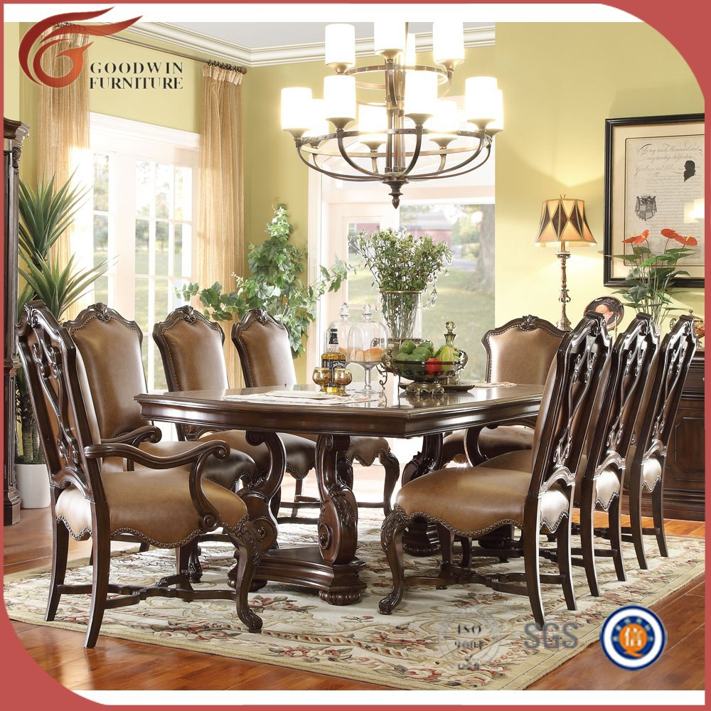 haut de gamme de luxe ensemble royale salle manger meubles wa160