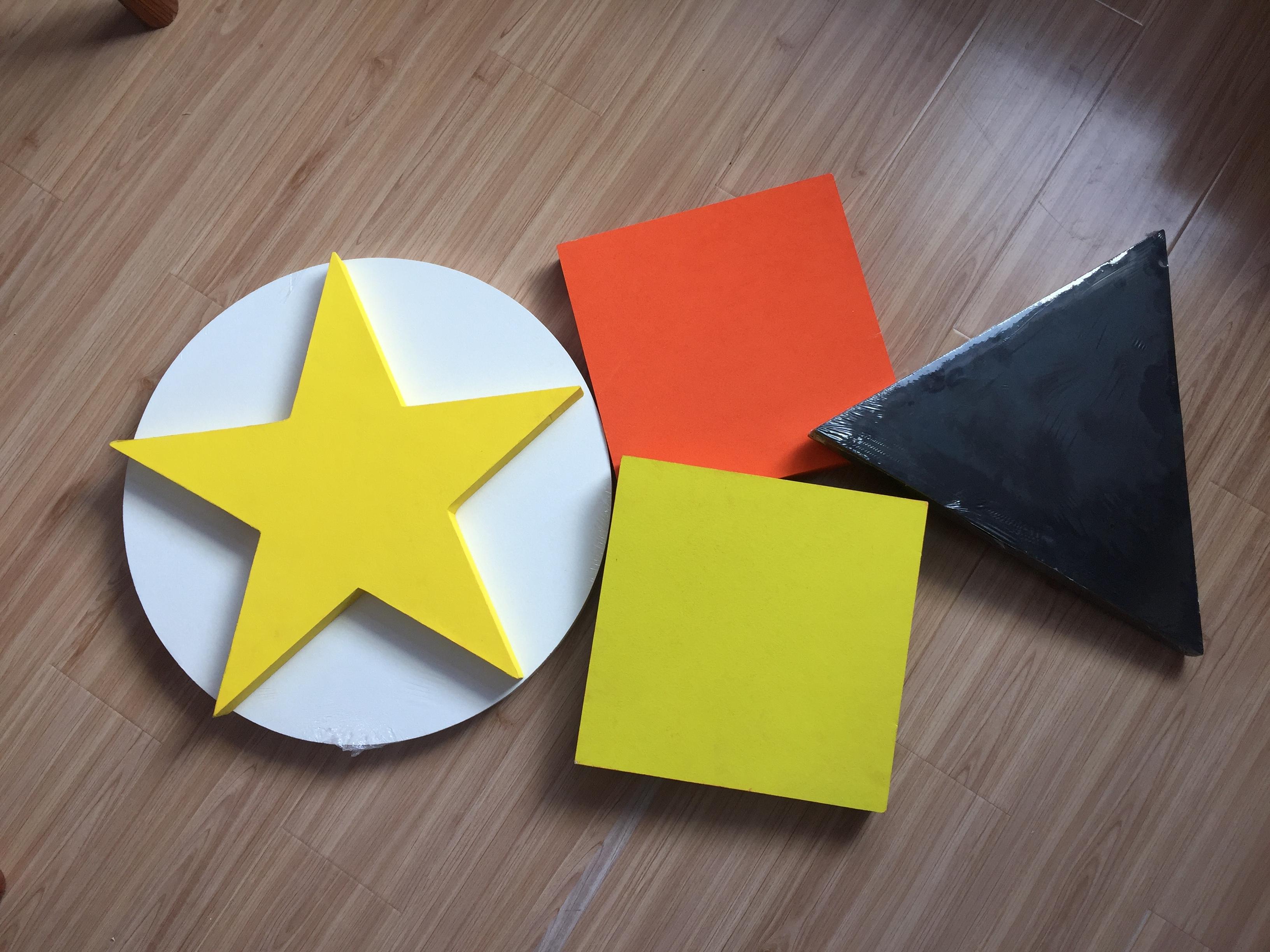 Square Fireproof Ceiling / Fiberglass Ceiling Tiles / Artistic ...