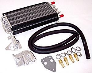 Empi 00-9223-0 8-Pass Oil Cooler Kit 1//2 Hose Barb w//Booster Kit