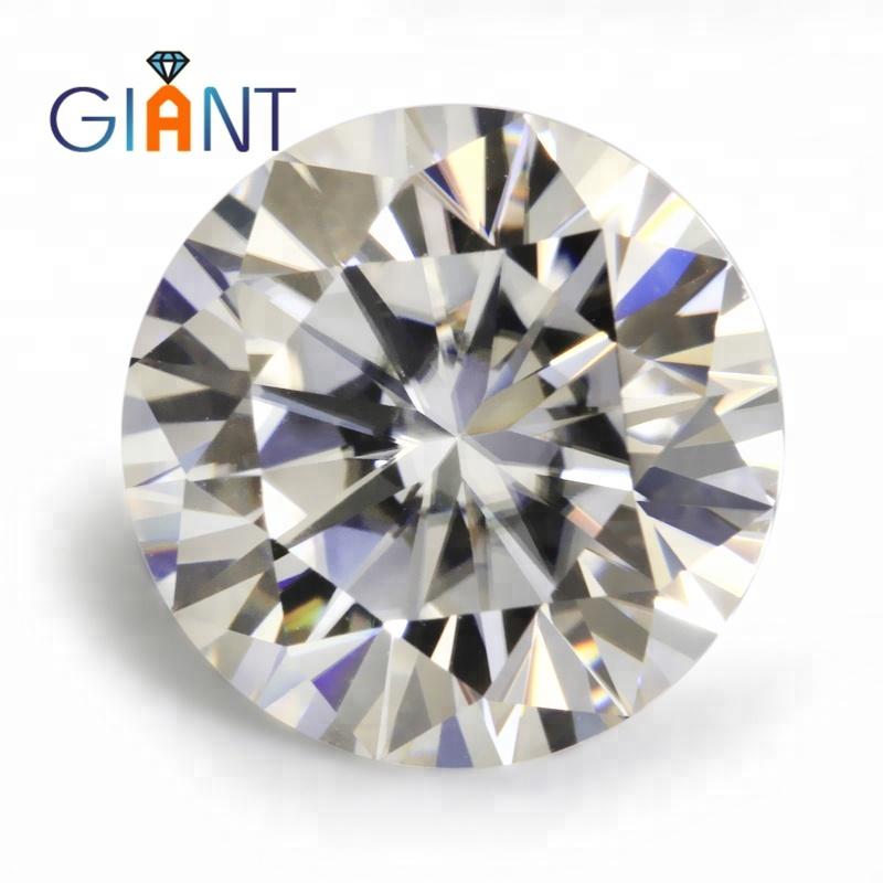 1 ct Moissanite Diamond 6.0mm white VVS Moissanite фото