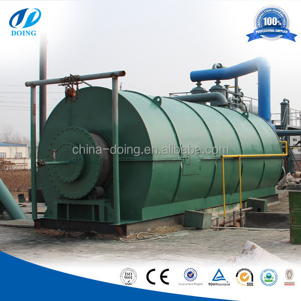 Delivery fast used tyre pyrolysis plant/used tire pyrolysis plant with high technology