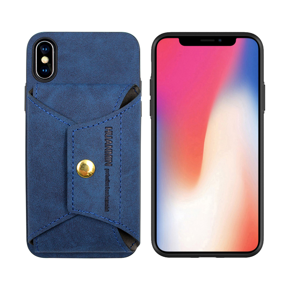 Multifunction Portable PU Leather Wallet Case For iPhone X XS XR фото