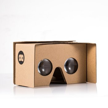 Google Cardboard Kit V2 Big Lens 3d Virtual Reality Cardboard Glasses With  Head Strap Nose Pad And Nfc - Buy Reality Viewer V2 0 Kit,Big Lens 3d