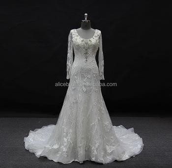 B0952 Western Royal Lace Wholesale Turkey Wedding Dress Bridal Gown ...