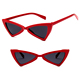DLL5160 Triangle Fashion Eagle Eye Sunglasses