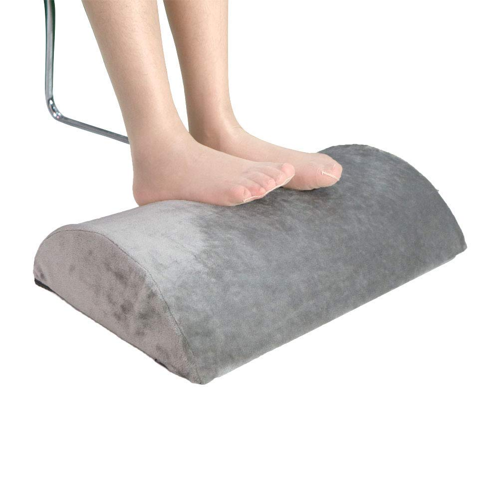 MEYUEWAL Foot Rest Cushion for Under Desk, Ergonomic Non-Slip High Density Foam, Ideal for Home and Office, Relieve Knee Pain, Tired, Aching & Sore Feet