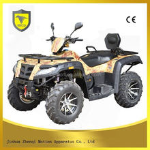 Competitive price high quality 2 seat four drivers atv quad bike