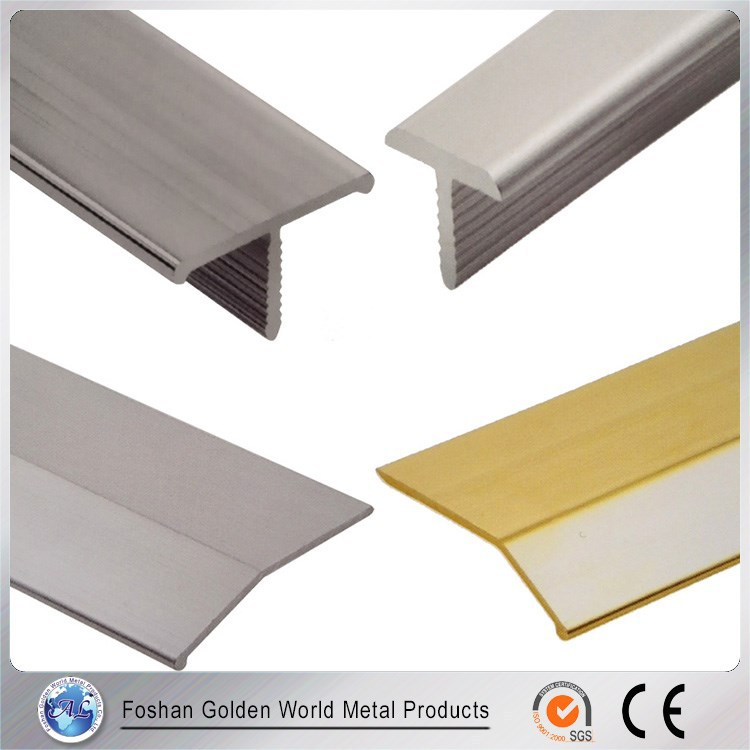 Reasonable Price Straight A Variety Of Colors Aluminum Corner Tile Trim