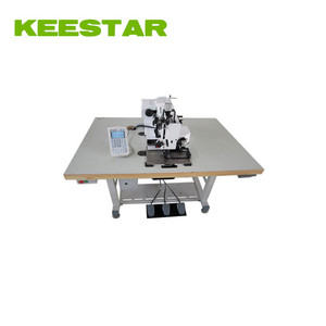 Keestar HCP1306 Electronic programmable pattern sewing machine price, thread cutting, CAD designing pattern