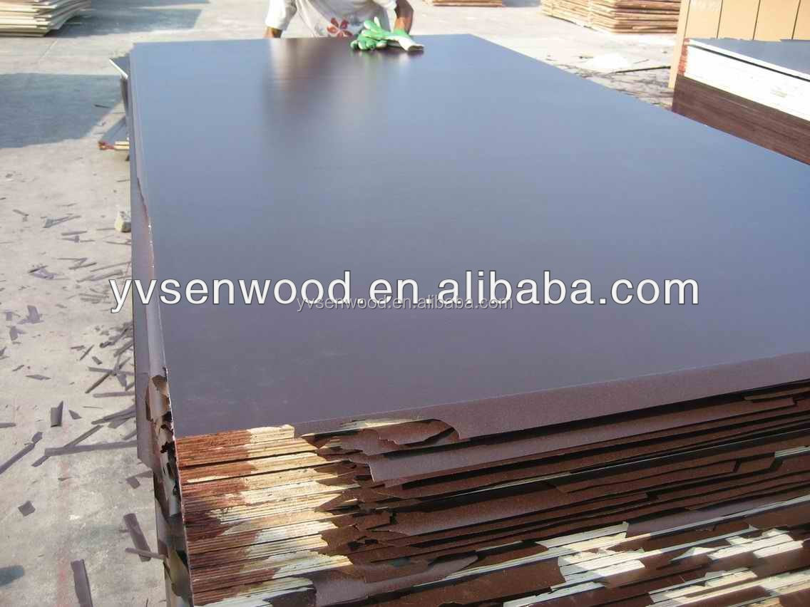 whole sale black and brown film faced plywood 18mm of building material