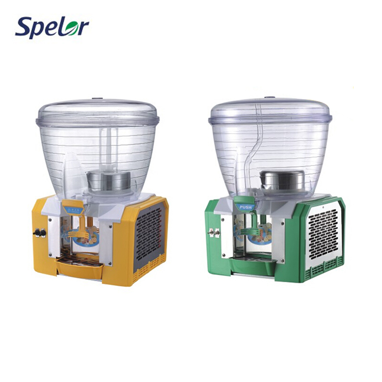 Freely Adjust Plastic Juice Electric Glass Beverage Dispensers